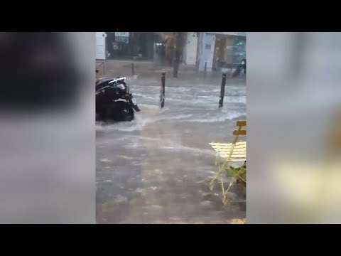 Southern France Hit By Flash Flooding