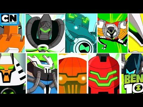Download Ben 10 Reboot | Every Single Ben Alien Transformation | Cartoon Network