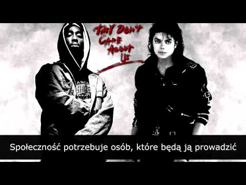 Michael Jackson ft 2Pac - illuminati Don't Care About Us [NAPISY PL]