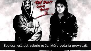 Michael Jackson Ft 2Pac illuminati Don 39 t Care About Us NAPISY PL.mp3