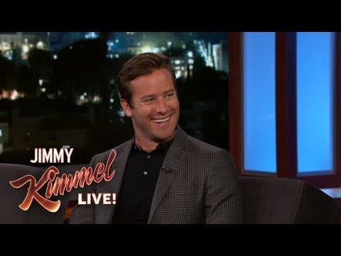 Armie Hammer Has a Tough Life