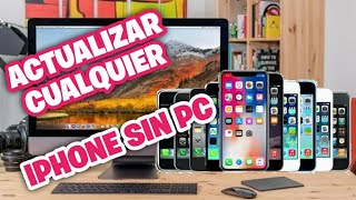 ACTUALIZAR IPHONE SIN PC - IOS 14.01