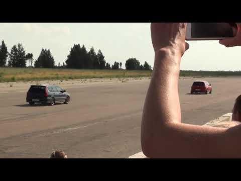 Lancer 9 Turbo vs VW Golf GTI 7 (класс FWD)