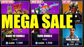 FREE v-bucks for EVERYONE on fortnite! (Fortnite MEGA SALE!!) Discounted item shop coming?