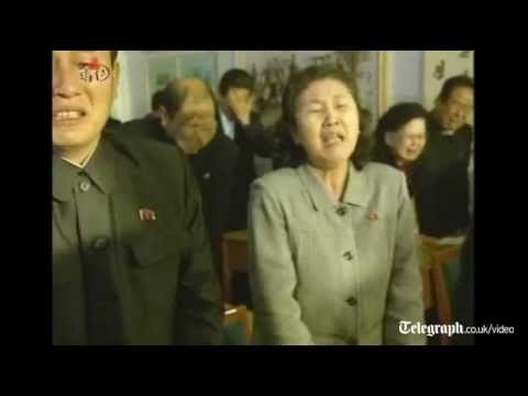 North Korea united in unrestrained public grief as 'Dear Leader' Kim Jong-Il dies