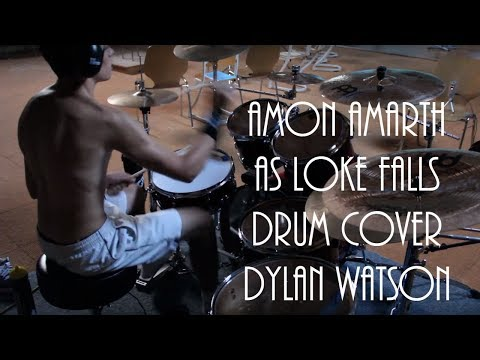 Amon Amarth - As loke falls - drum cover