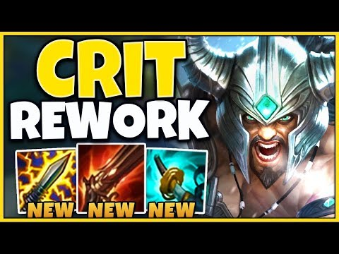 *REWORKED* THESE NEW ITEMS ARE COMPLETELY INSANE CRAZY BURST - League of Legends