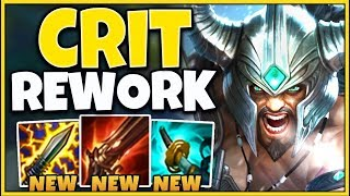 *REWORKED* THESE NEW ITEMS ARE COMPLETELY INSANE! (CRAZY BURST) - League of Legends
