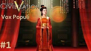Let's Play Civilization 5 Vox Populi - China p.1 (deity, marathon)