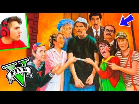 LA VECINDAD DEL CHAVO (fantasmas) !! - GTA V MODS