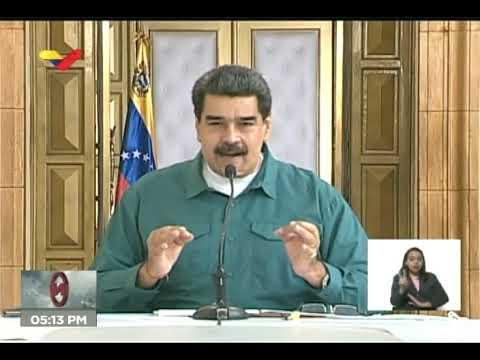 Reporte Coronavirus Venezuela, 19/07/2020: Presidente Nicolás Maduro dirige reunión desde Miraflores