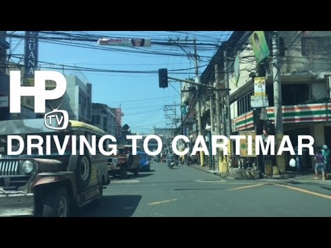 Driving to Cartimar Market in Pasay City via Arnaiz Avenue Taft Avenue by HourPhilippines.com