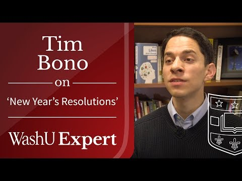 Make Those New Year's Resolutions Stick! | Washington University