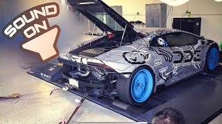 I STRAIGHT PIPED MY SUPERCHARGED LAMBORGHINI HURACAN! *WORLDS LOUDEST V10*