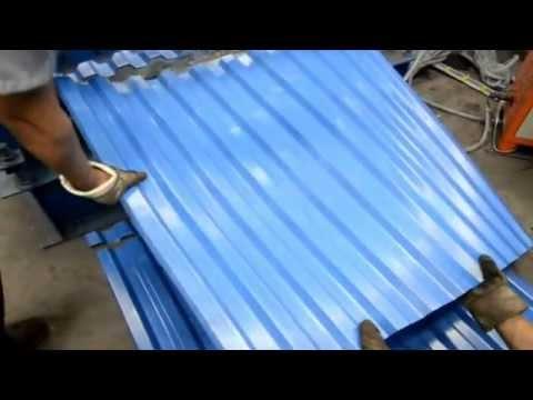 Roofing Sheet Making Machine Vishw Group India Youtube