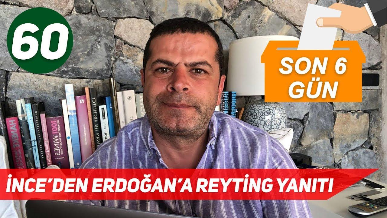 2018 Seçim - Erdoğan ve İnce'nin Reyting Atışması, Çiller'in Ziyareti ve Demirtaş'ın TRT Konuşması