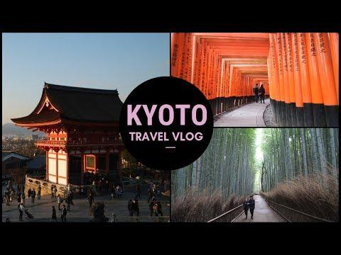 KYOTO : FUSHIMI INARI & HUTAN BAMBU ARASHIYAMA - TRAVEL VLOG
