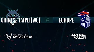 TPE (WC) vs. EU | Group Stage Day 3 | AWC 2018