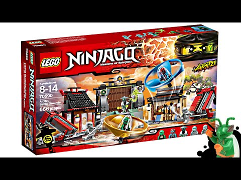 LEGO Ninjago Airjitzu Battle Grounds - My Thoughts!