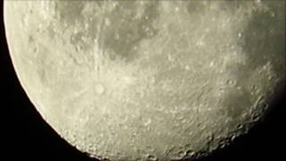 Magnification of moon using the Canon SX710