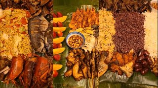 #Vlog114 Boodle Fight with Friends and Family~#boodlefight  #friends #family #Filipino #pinoy #food