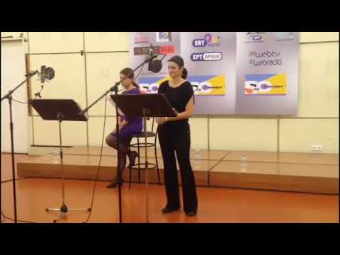 """Mein Herr Marquis"" - Marianna Mansola , live transmission  Greek National Radio 12 Dec/17"
