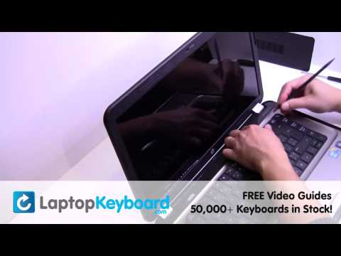 HP Pavilion G6 G4 Keyboard Installation Replacement Guide - Laptop Remove Replace Install