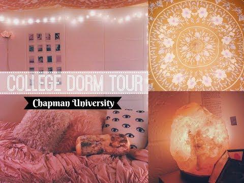 COLLEGE DORM TOUR 2017 - CHAPMAN UNIVERSITY - NORTH MORLAN HALL