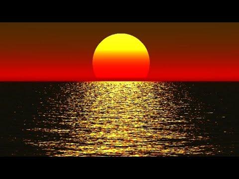 Расслабляющая музыка для отдыха , от усталости | Теплый закат, Океан