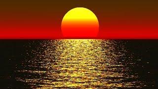 Расслабляющая музыка для отдыха , от усталости   Теплый закат, Океан