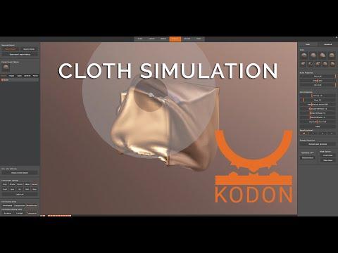 KODON: CLOTH SIMULATION in VR