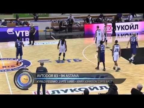 01.03.2015 | VTB League | Avtodor @ Astana (Highlights)