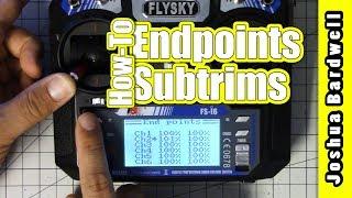 FlySky FS-i6 Betaflight Setup: Calibrating Endpoints