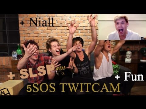 5 Seconds Of Summer + Niall - Twitcam (3/21/14)