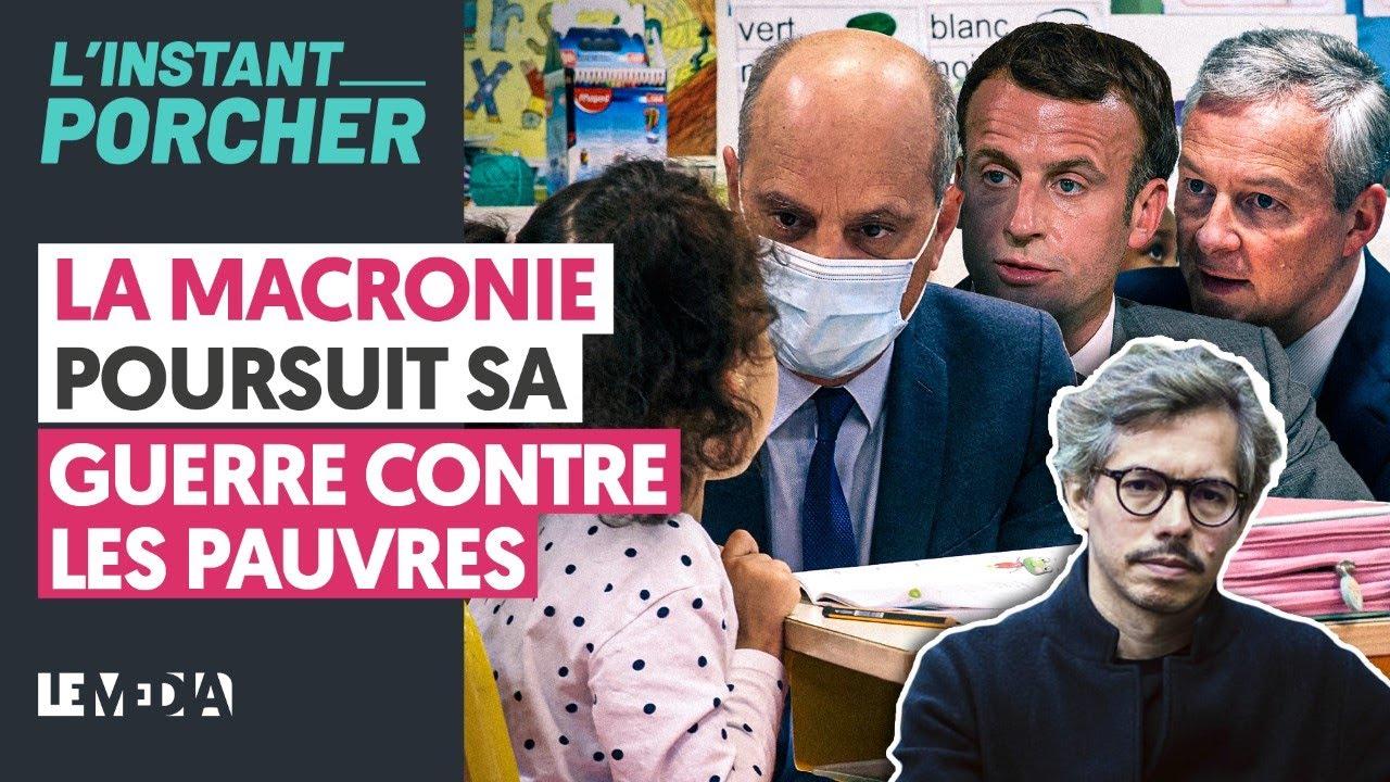 Download LA MACRONIE POURSUIT SA GUERRE CONTRE LES PAUVRES