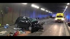 Schweiz: Unfall im Gotthard-Tunnel – zwei Tote, mehrere Verletzte