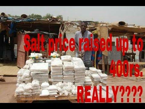 Salt Price Increased.....
