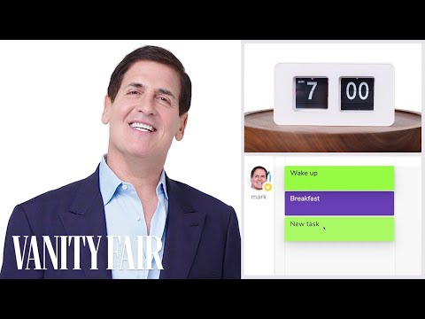 Everything Mark Cuban Does in a Day | Vanity Fair