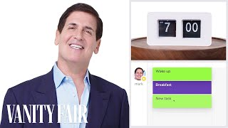 Mark Cuban tells us everything he does in a day. Back for a momento...