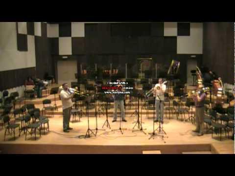 Belgrade trombone quartet- Scarborough Fair arr.B....