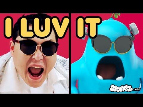 Cover Lagu Funny Animated Cartoon | Spookiz x PSY I Luv It Music Video Parody | Cartoons for Children HITSLAGU