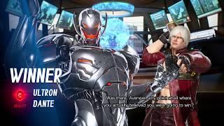 THIS TIME A SICK ULTRON COMEBACK! Online MVCI (Me) Dante/Ultron VS Cpt Marvel/Dormammu