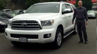 Why a 2008 Toyota Sequoia Limited is MUCH nicer than most new SUV's