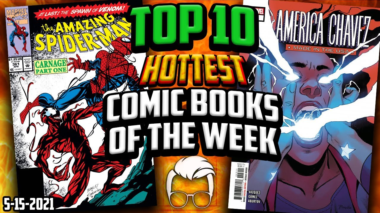 Download Shocking Comic Book Sales 🤯 Top 10 Trending Comic Books & Back Issues of the Week 🔥