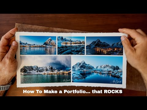 How to set up a Photography Portfolio - Tips for Making a Photography Portfolio in 2020