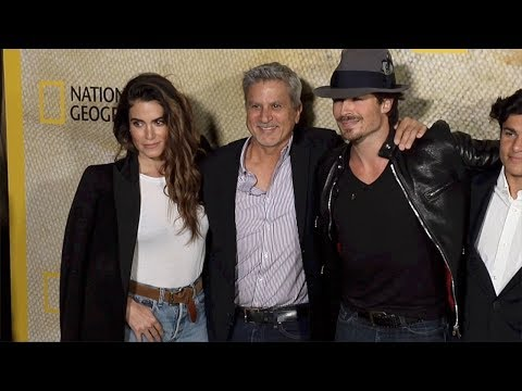 "Ian Somerhalder, Nikki Reed, Seth Reed ""The Long Road Home"" Premiere"
