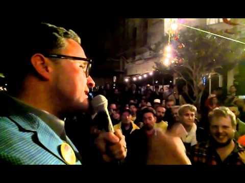 David Campos for Assembly - Election Night Speech - November 4, 2014