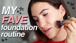 CURRENT FAVORITE FOUNDATION ROUTINE! | Dry Skin | Jamie Paige