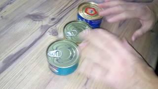 Тунец в консервах сравниваем