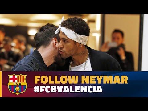 INSIDE VIEW - Neymar Jr at Camp Nou (Barça - Valencia)